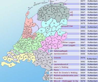 regio-weblog-lijst