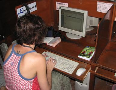 Wat moet je hebben als je in Cambodja gaat internetten? GEDULD!!!