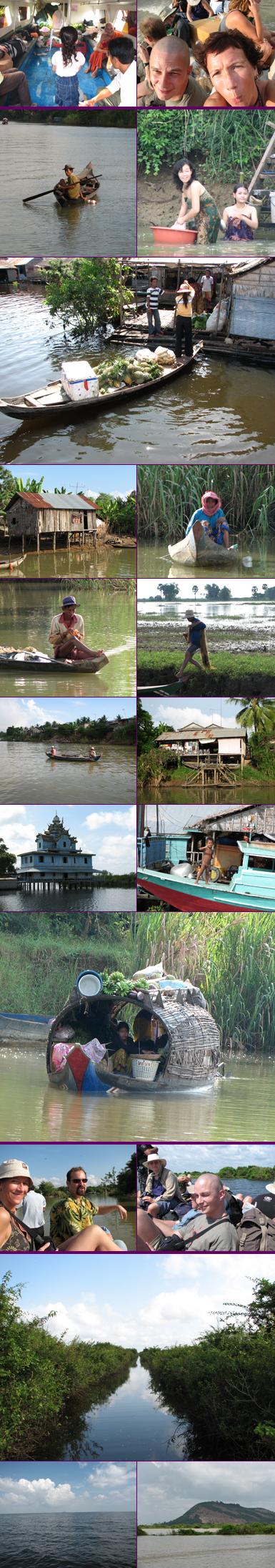 Cambodja - met de boot van Battambang naar Siem Reap
