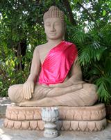 Buddha ingepakt