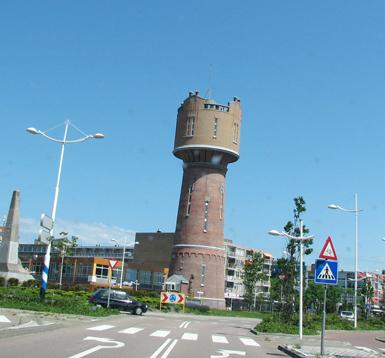 'de oude watertoren' in Den Helder