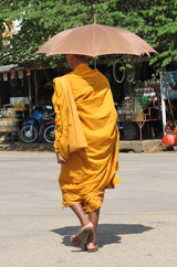 there goes a monk again...