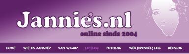 nieuwe websitekop op jannies.nl!