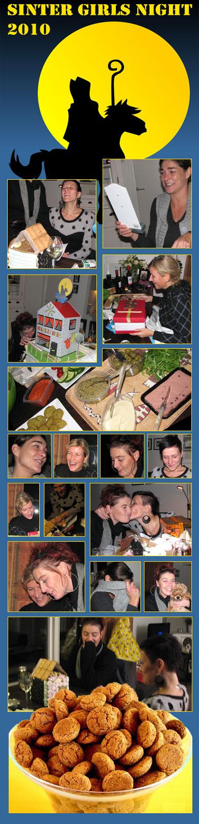 Sinterklaasavondje met de meiden, altijd heeeeeel erg gezellig! En ja, we waren er vroeg bij dit jaar ;-)