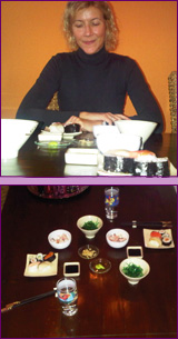 sushi en zeewier